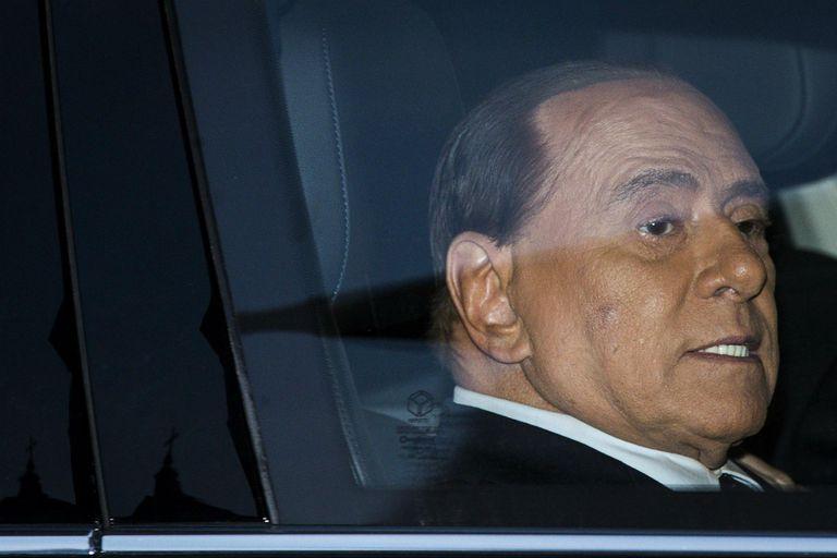 Berlusconi anunció su candidatura al Parlamento Europeo por Forza Italia