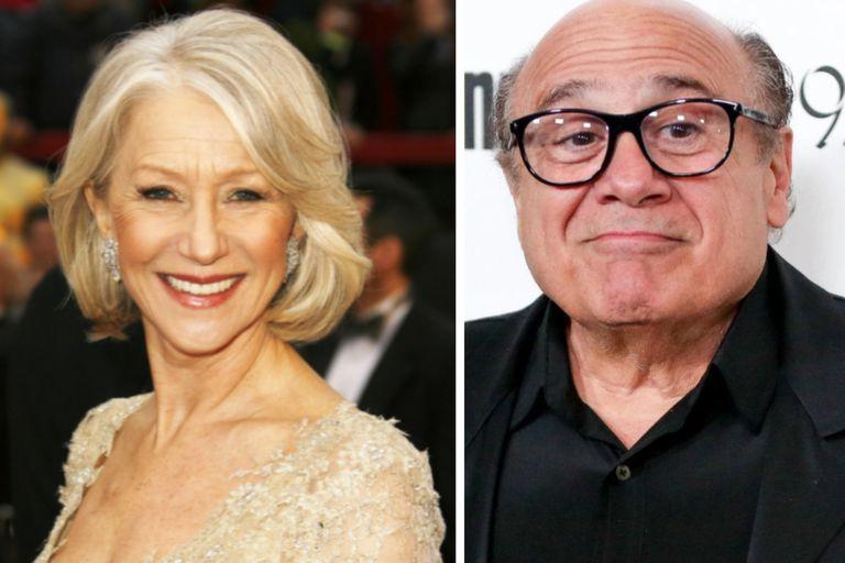 Helen Mirren y Danny DeVito también serán de la partida