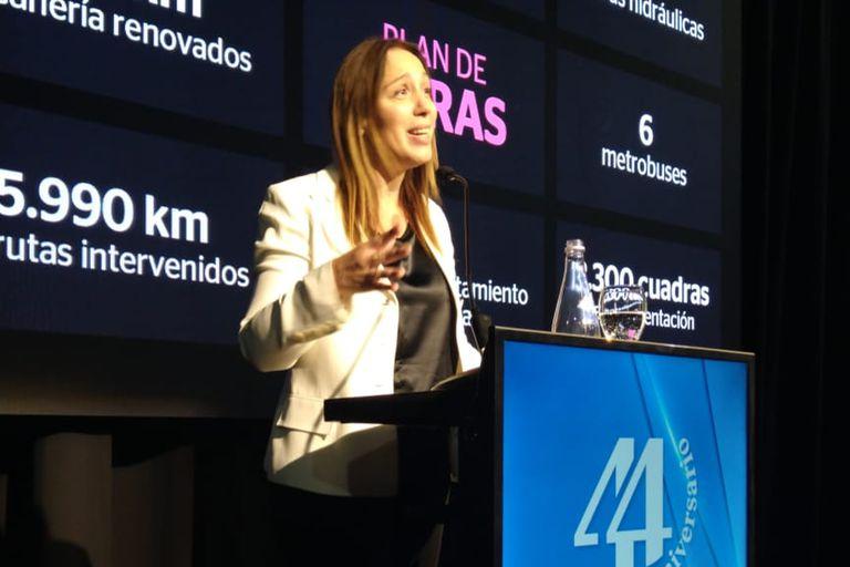 María Eugenia Vidal encabezó un almuerzo en la Fundación Mediterránea