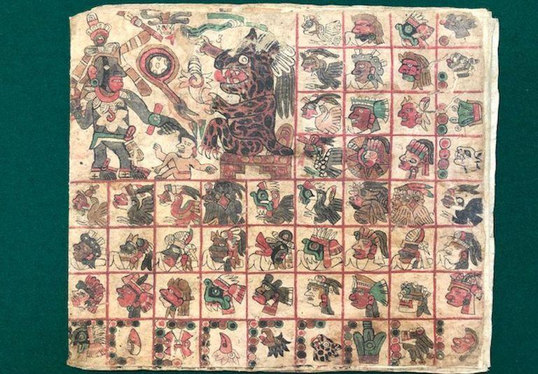 El códice está relacionado con el tiempo y con los dioses que regían en cada periodo. Se consultaba para equilibrar el destino