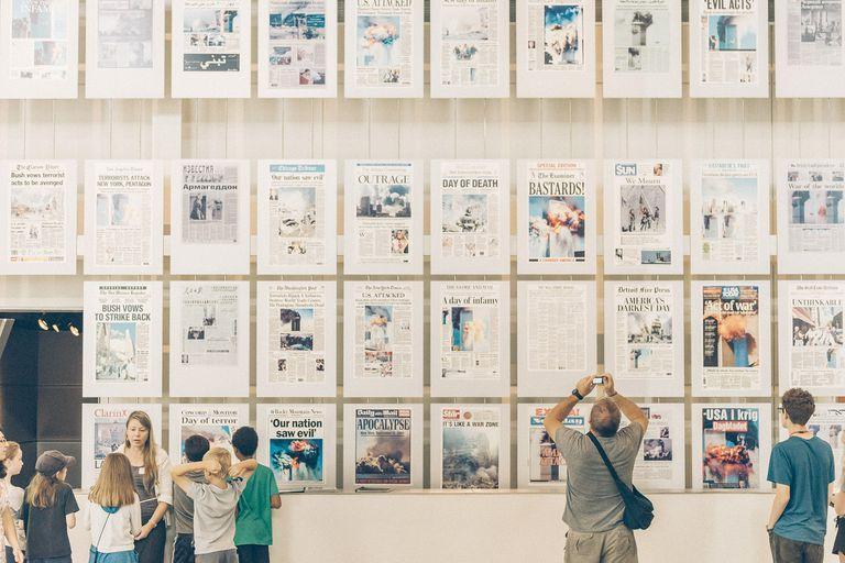 El museo de noticias y libertades Newseum, en Washington, deja un espacio vacío y muchos interrogantes