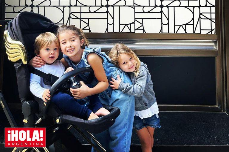 China Suárez: el exclusivo cochecito en el que pasea a su hijo Amancio por Madrid