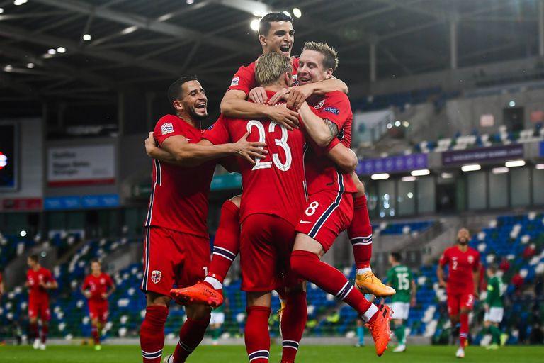 Nations League. La rompió Haaland: dos golazos y una asistencia para Noruega