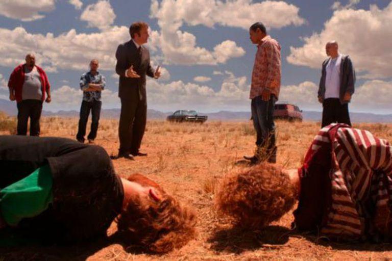 Tuco y una memorable negociación en el desierto