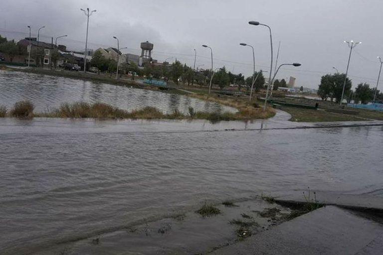 Las avenidas más importantes también se vieron afectadas
