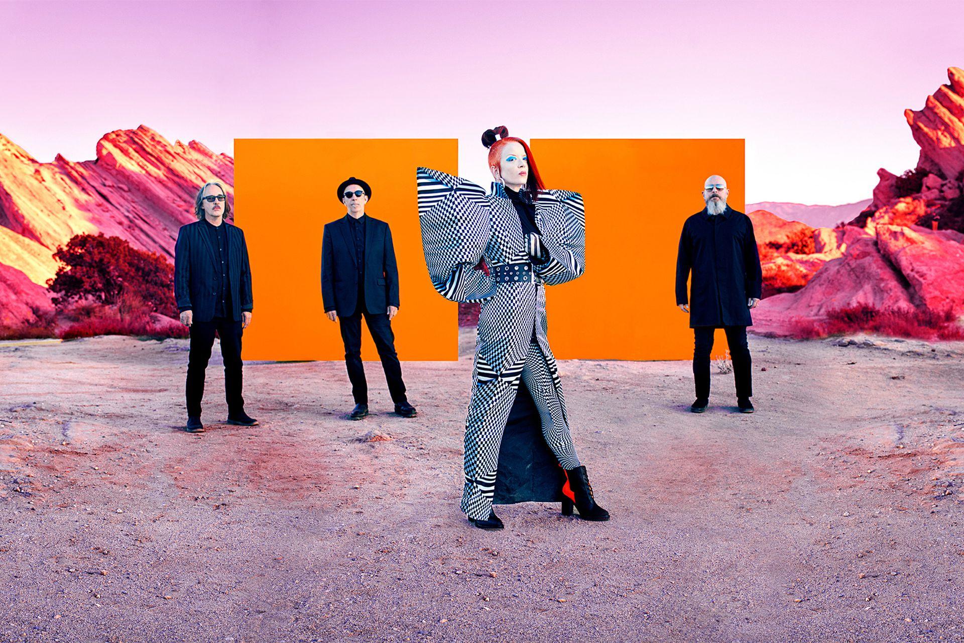 Garbage. banda de rock. Shirley Manson, cantante.