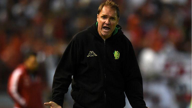 Dario Franco dejo su cargo como entrenador de Aldosivi