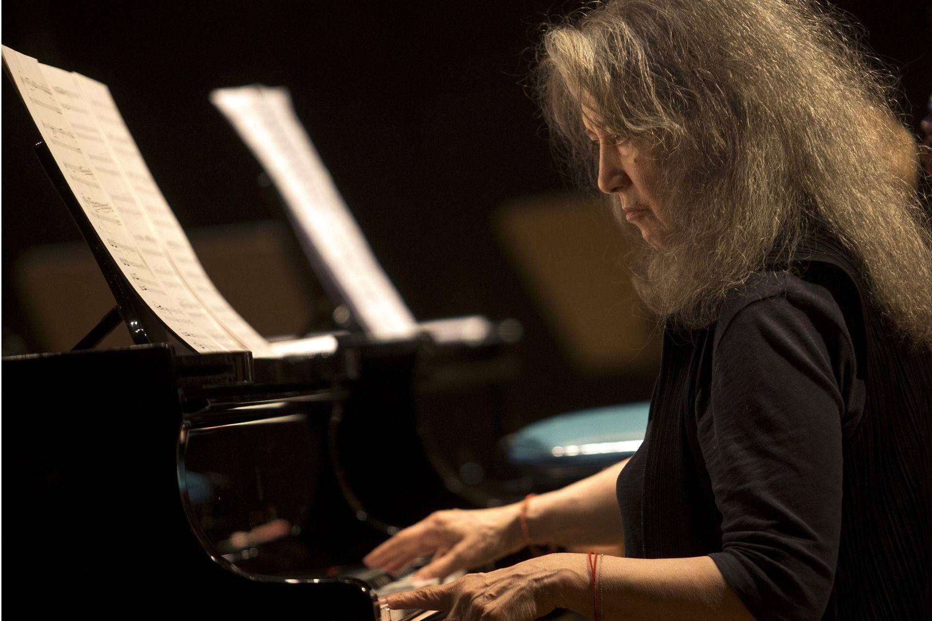 Martha Argerich, en Buenos Aires en el festival Beethoven