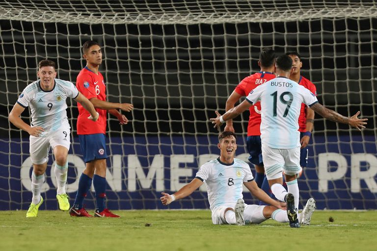Sueña: Argentina le ganó a Chile por el Preolímpico y llegó a la punta del grupo