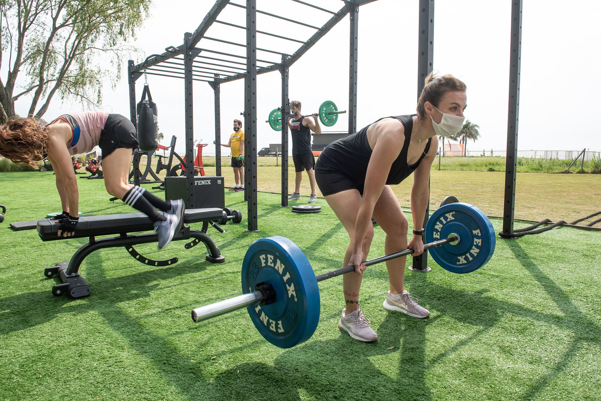 La sede Al Río, de Sport Club, volvió a abrir con estrictos protocolos sanitarios