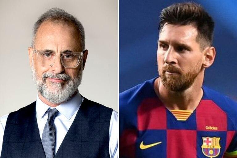 La particular razón por la que Jorge Rial se comparó con Lio Messi