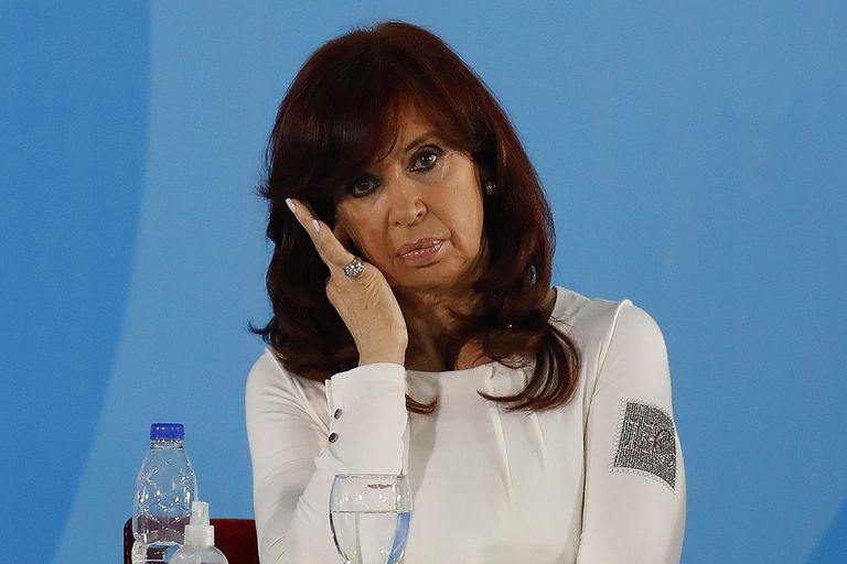 """La vicepresidenta Cristina Kirchner, durante la presentación del proyecto de ley de """"Fomento al Desarrollo Agroindustrial"""""""