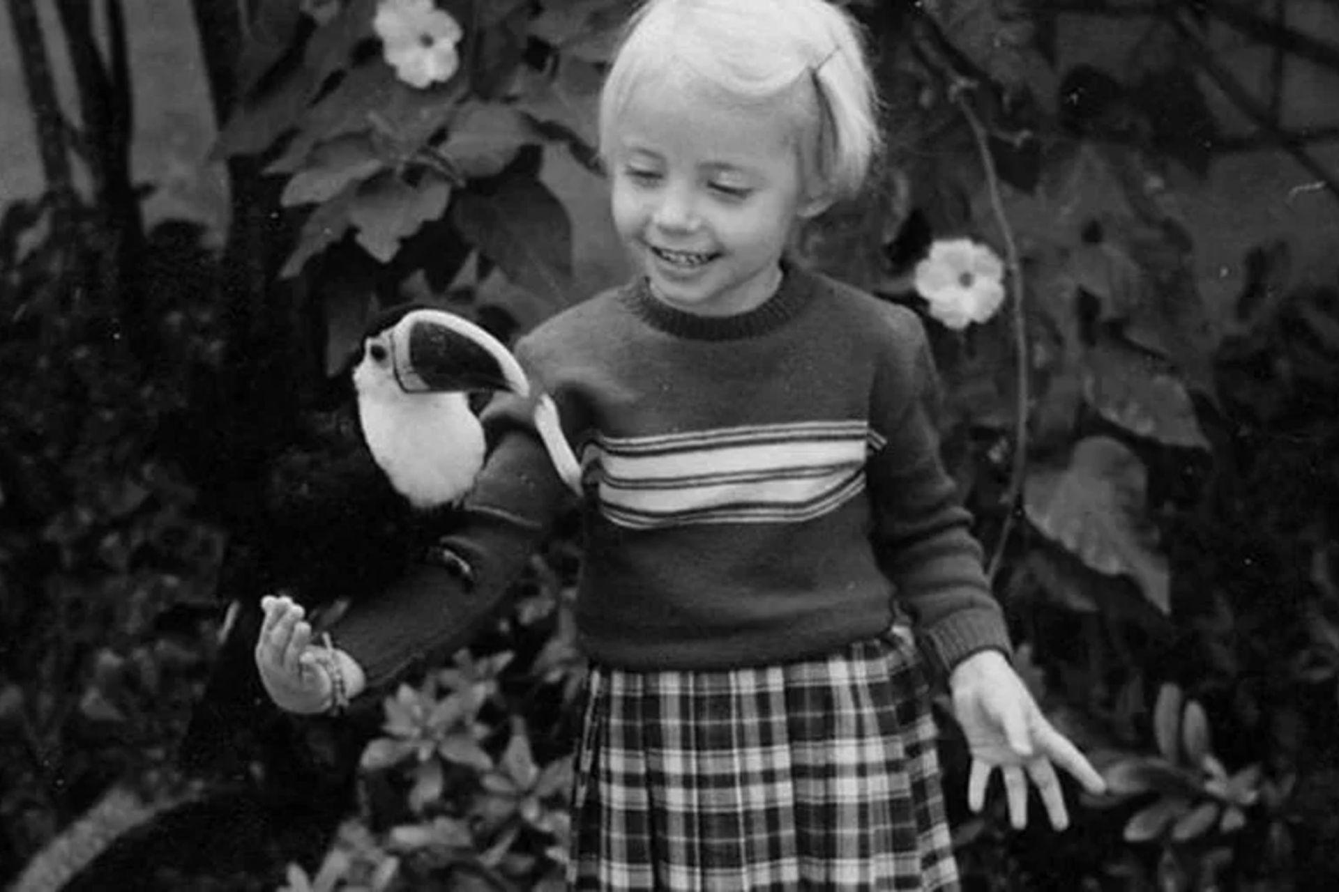 De chica sus padres le transmitieron el amor por los animales