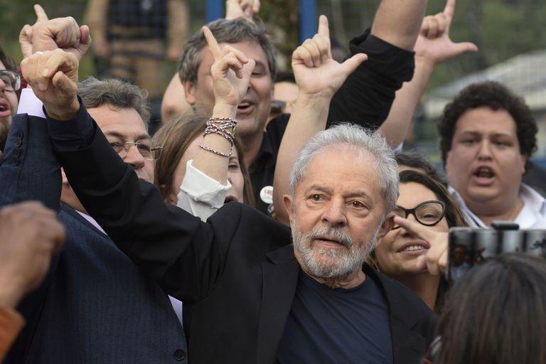 Lula da Silva salió de la prisión en Curitiba este mes