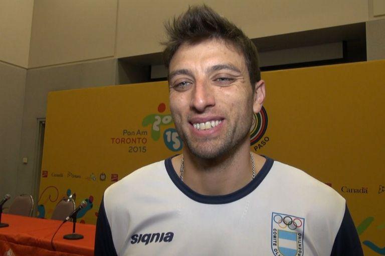 Javier Filardi fue papá por segunda vez durante los Juegos