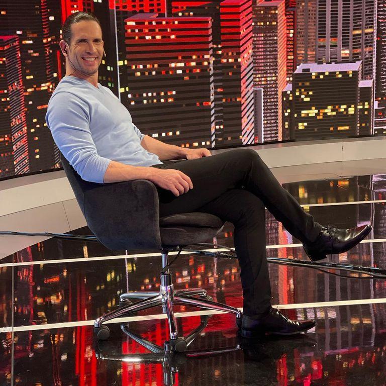 Diego Ramos era uno de los panelistas de TV Nostra, el programa de Jorge Rial que terminó abruptamente