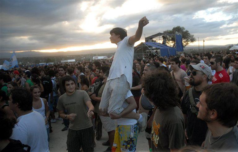 2009. Cosquín Rock, en la Comuna de San Roque, sede que siguió a la ciudad de Cosquín