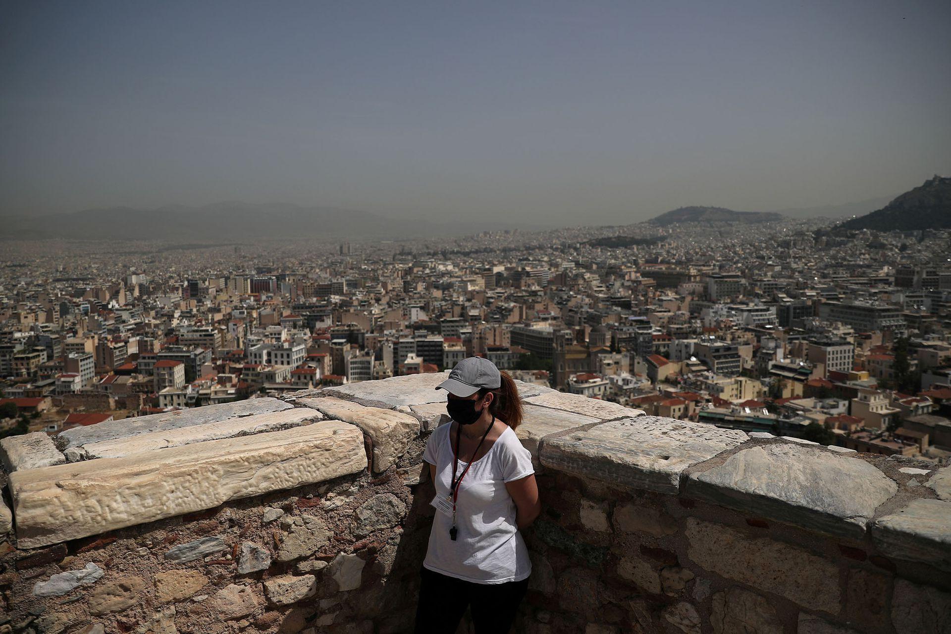 Con 2,9 millones de visitantes en 2019, la Acrópolis es el monumento más visitado de Grecia