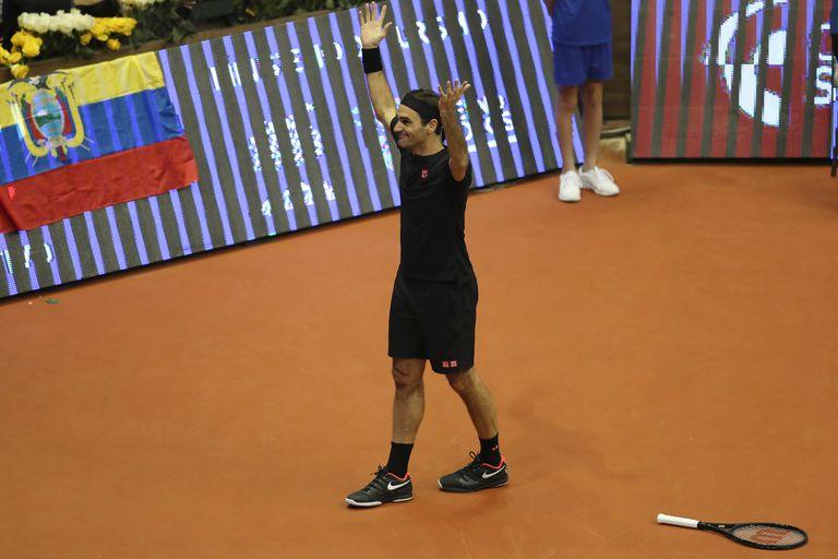 La clase de Federer y Zverev: cómo jugar un punto completo sin tocar la pelota