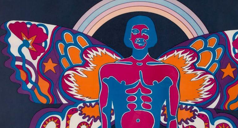 Detalle de un afiche diseñado por Edgardo Giménez en la página dedicada al Museo de Arte Moderno de Buenos Aires en Google Arts & Culture