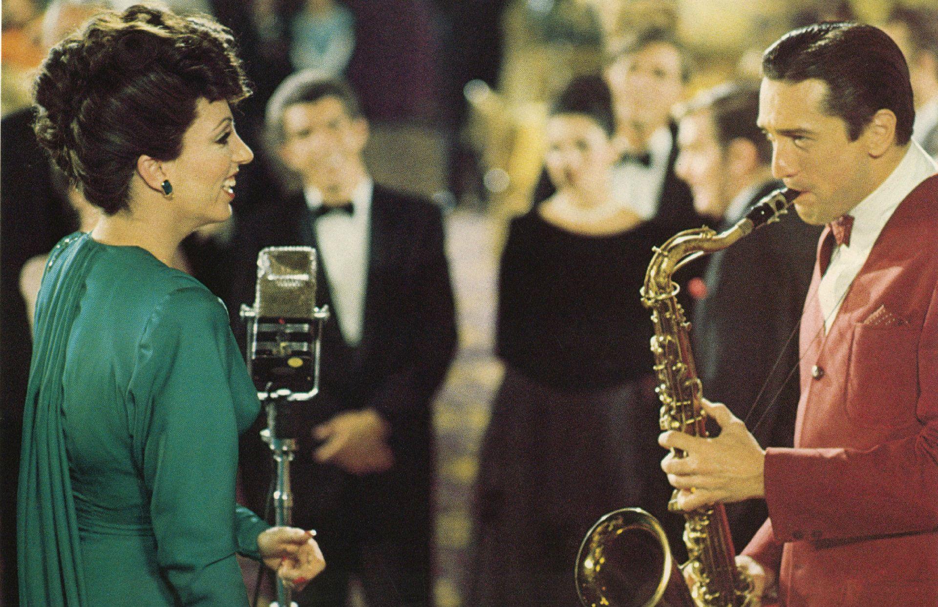 Liza y De Niro, en una escena del film