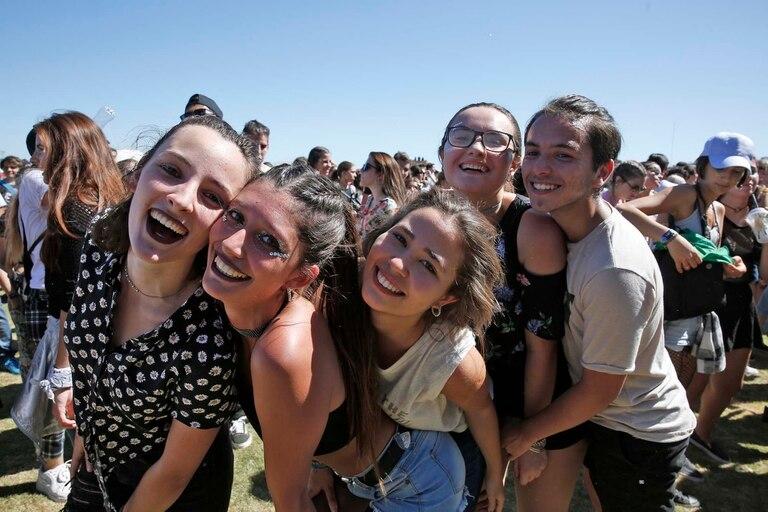 Para los adolescentes Lollapalooza es la cita ideal para iniciarse en el mundo de los festivales de música y entretenimiento