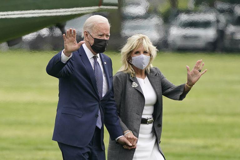 Junto con el presidente Joe Biden, Jill tuvo una participación activa en concientizar sobre la importancia de la vacunación contra el Covid-19
