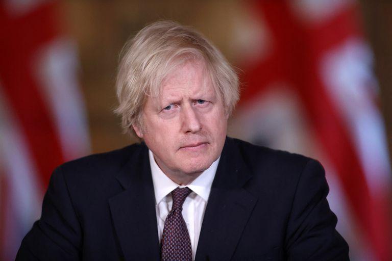 Boris Johnson dio hoy una conferencia de prensa virtual sobre el Covid y habló sobre la reina