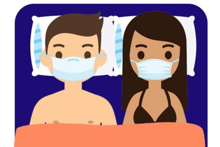 No basta con utilizar barbijos en la cama