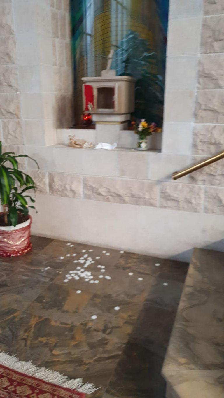 Robaron y profanaron el sagrario en la iglesia San Marón, en el centro porteño
