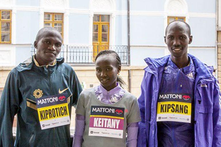 Kiprotich, Keitany y Kipsang, tres de los mejores fondistas de la actualidad