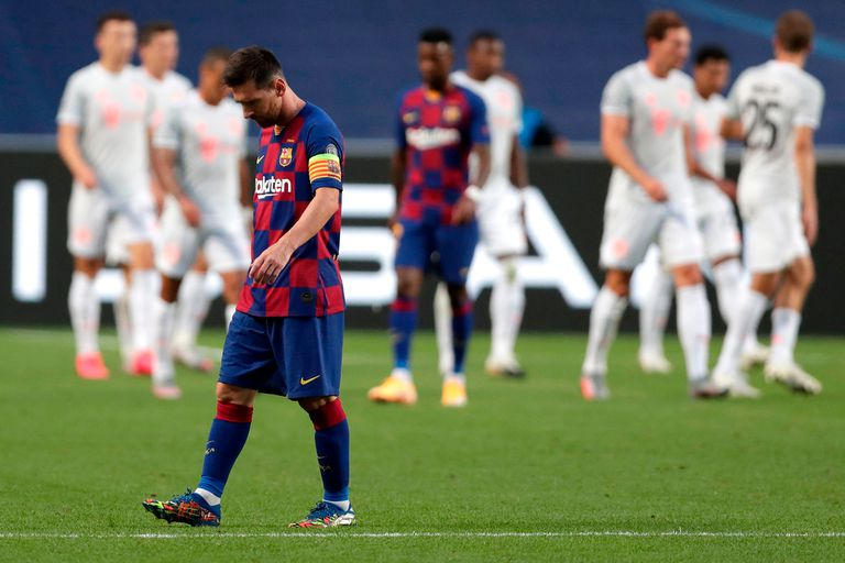 La goleada 2-8 que recibió de Bayern Munich, el gran golpe