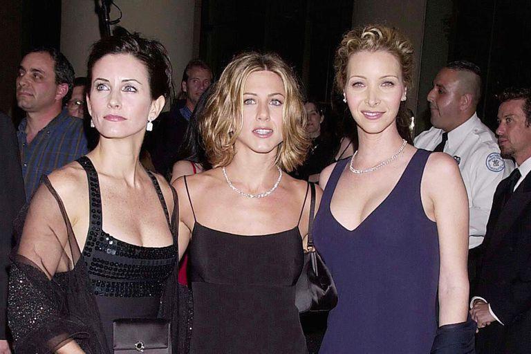 Las actrices de Friends nuevamente juntas en televisión