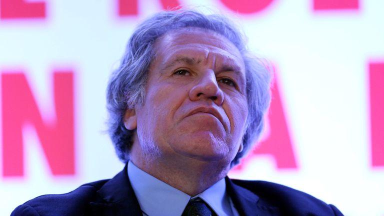 """""""Aquello que hemos advertido lamentablemente se ha concretado"""", dijo Luis Almagro"""