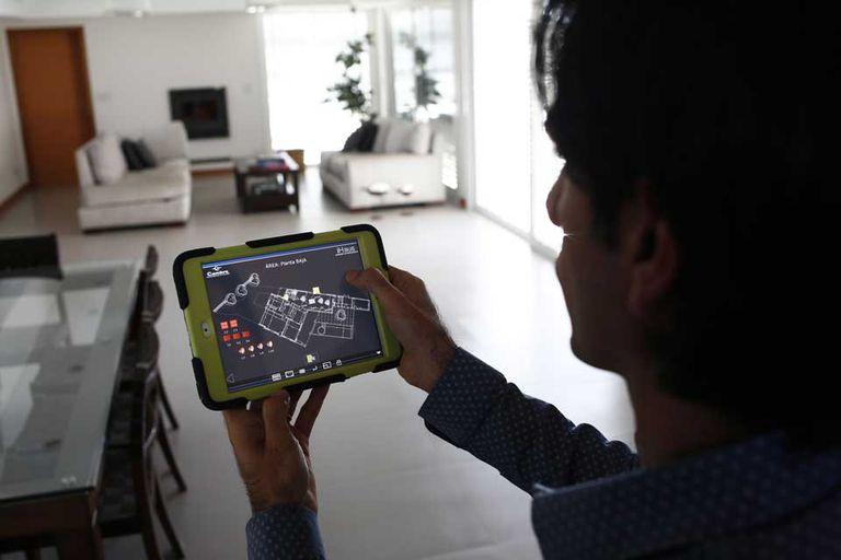 Desde la tablet se operarán los distintos sistemas y dispositivos
