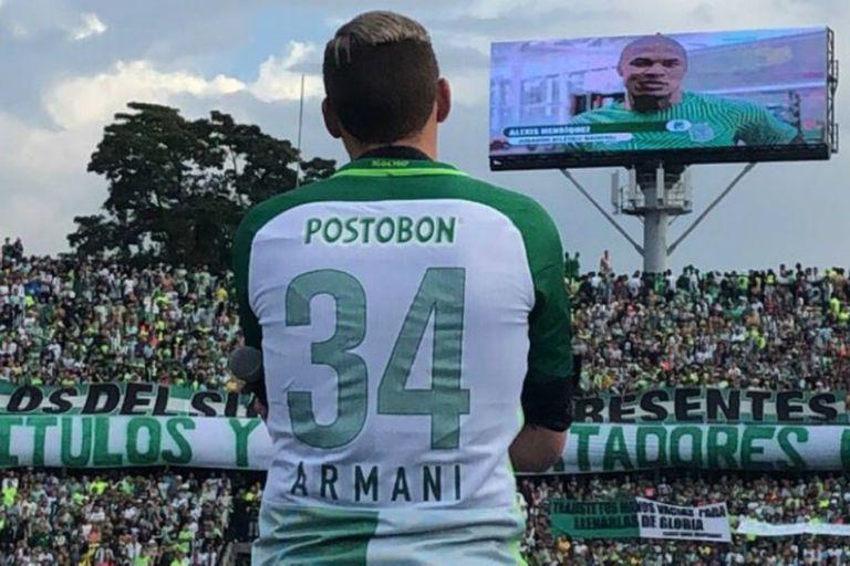 Armani y la emoción del tributo que recibió en enero pasado, cuando se despidió de Medellín