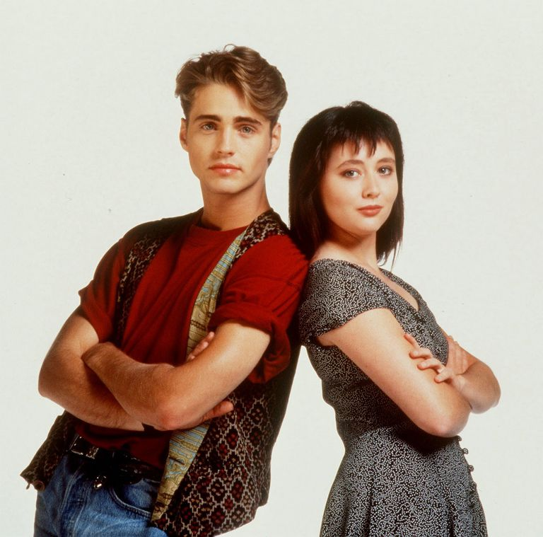 Jason Priestley y Shannen Doherty, los gemelos Walsh de Beverly Hills 90210