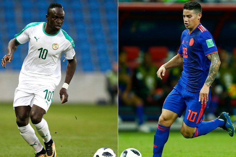Senegal-Colombia, Mundial Rusia 2018: horario, TV y formaciones