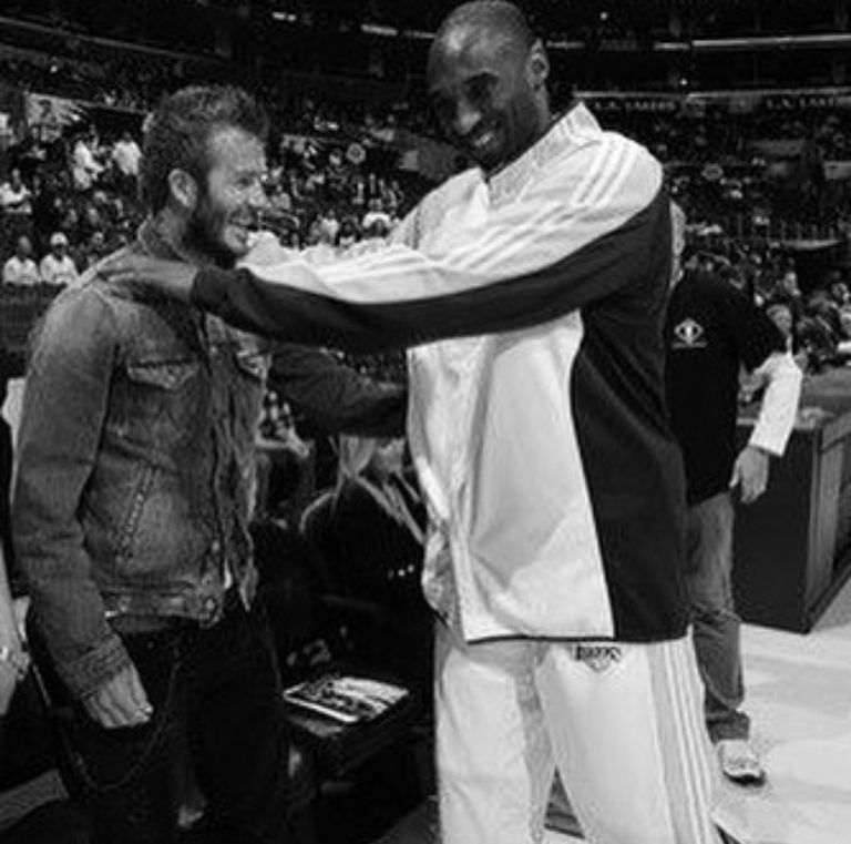 David y Kobe gozaban de una gran amistad. Crédito: Instagram