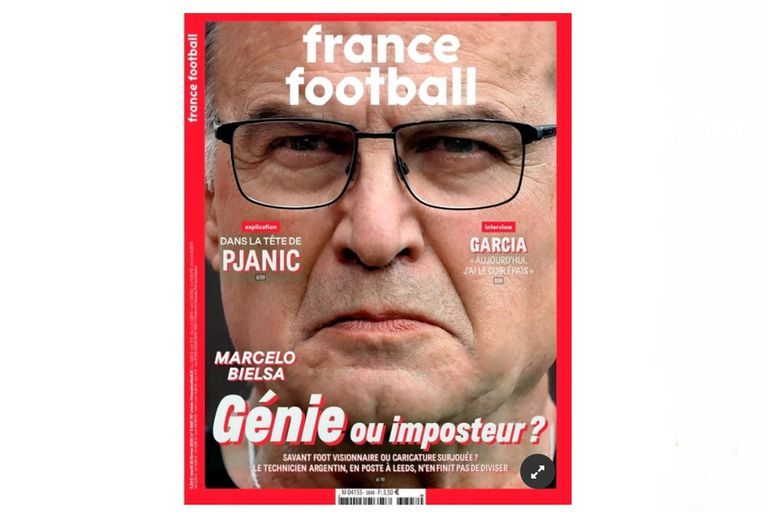 La publicación de France Football que habla de las capacidades de Bielsa como entrenador