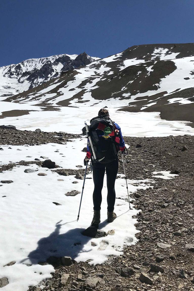 El tramo final a la cumbre nos costó mucho a todos.