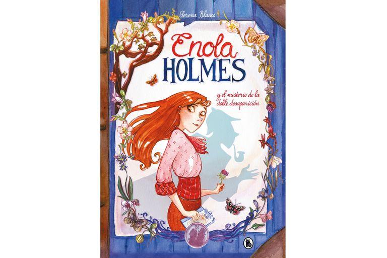 La portada del primer libro de historietas sobre la hermana menor de Sherlock