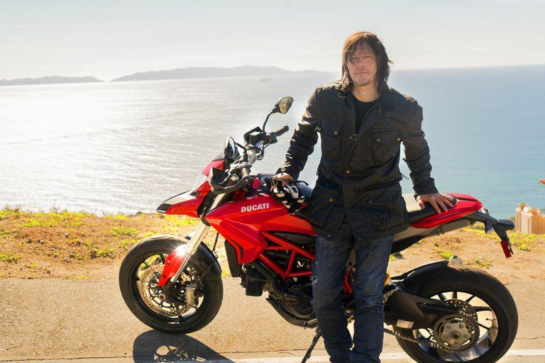 Norman Reedus, un apasionado de las motos que llevó su afición a la pantalla chica